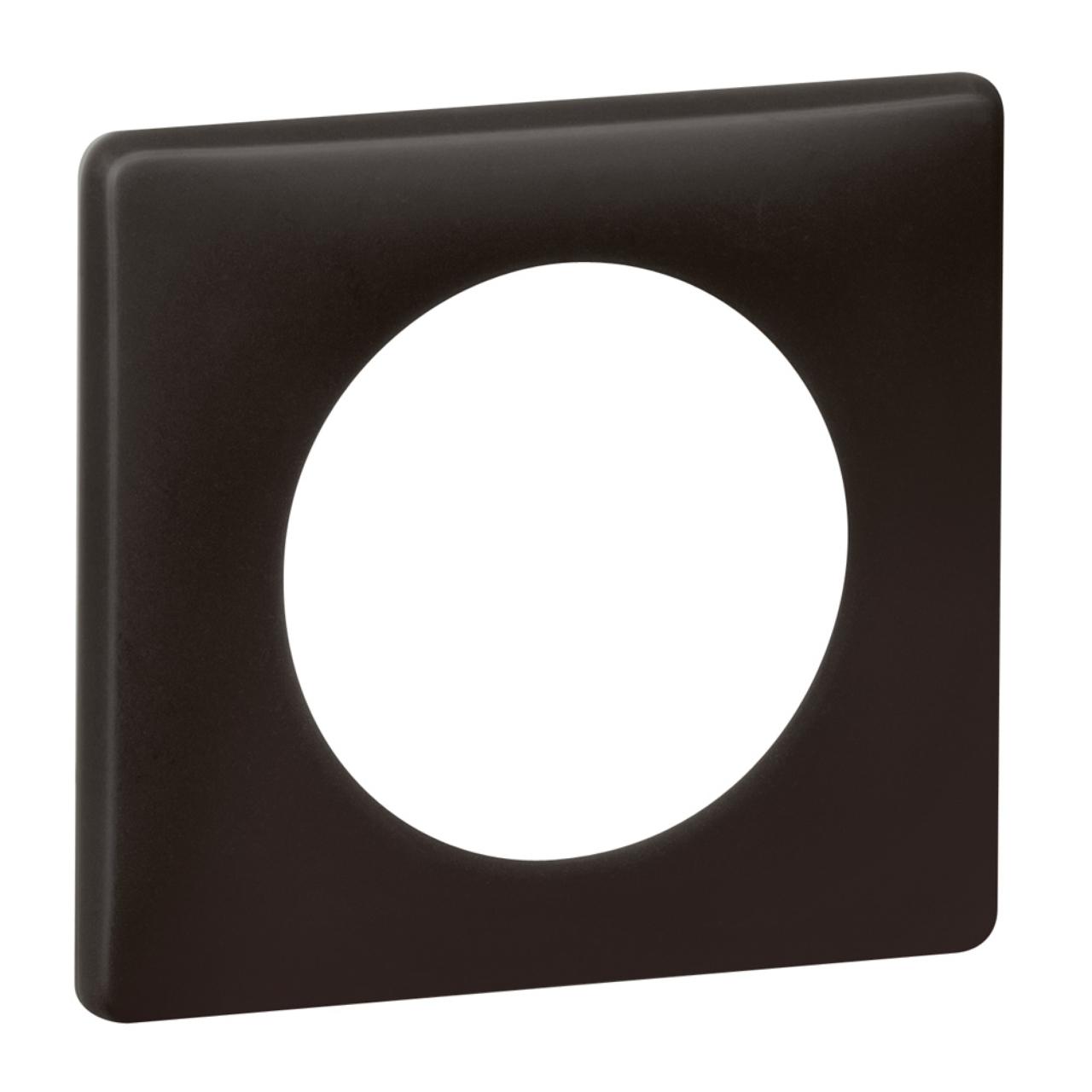 plaque legrand c liane 1 poste basalte 4 96. Black Bedroom Furniture Sets. Home Design Ideas