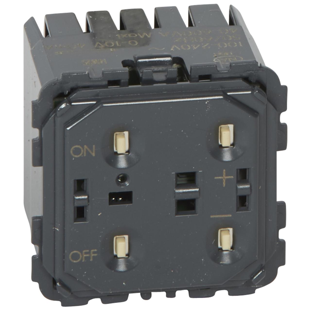 variateur interrupteur pour ballast 1 10v legrand c liane. Black Bedroom Furniture Sets. Home Design Ideas