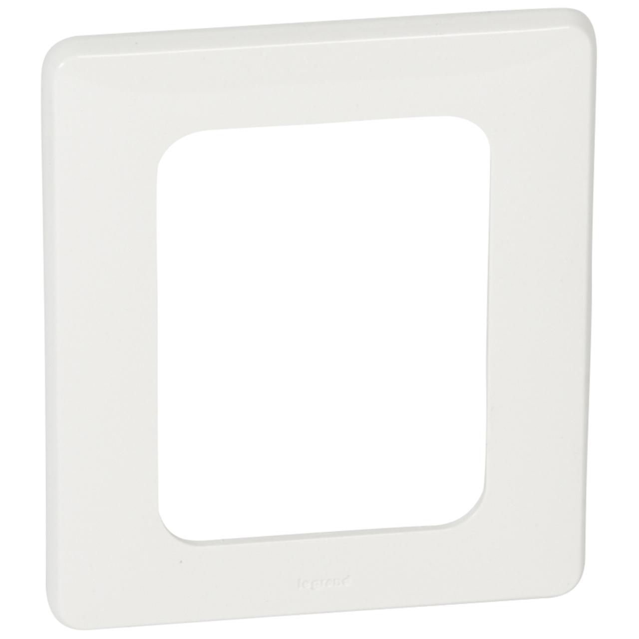 plaque pour cran tactile 3 5 pouces blanc legrand c liane. Black Bedroom Furniture Sets. Home Design Ideas
