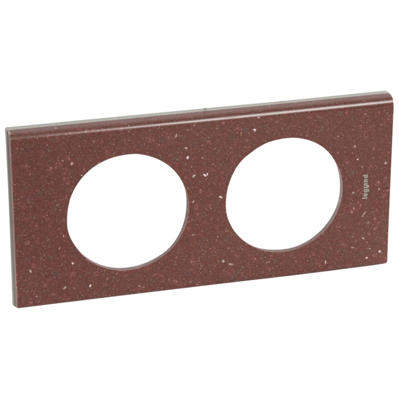 plaque c liane 2 postes corian pompei red 71 97. Black Bedroom Furniture Sets. Home Design Ideas