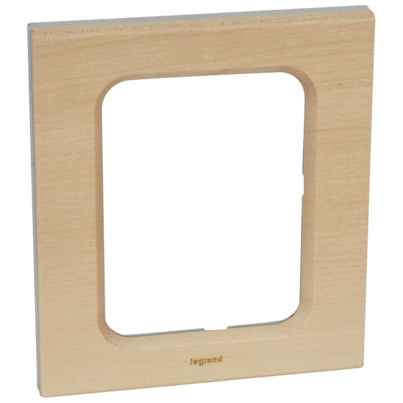 plaque pour cran tactile 3 5 pouces erable legrand c liane. Black Bedroom Furniture Sets. Home Design Ideas