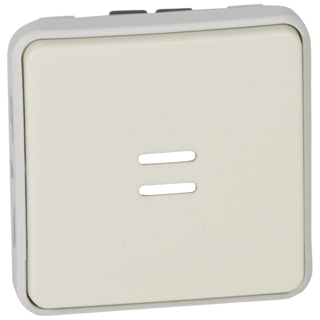 Bouton poussoir lumineux legrand plexo 55 blanc compos - Bouton poussoir lumineux ...