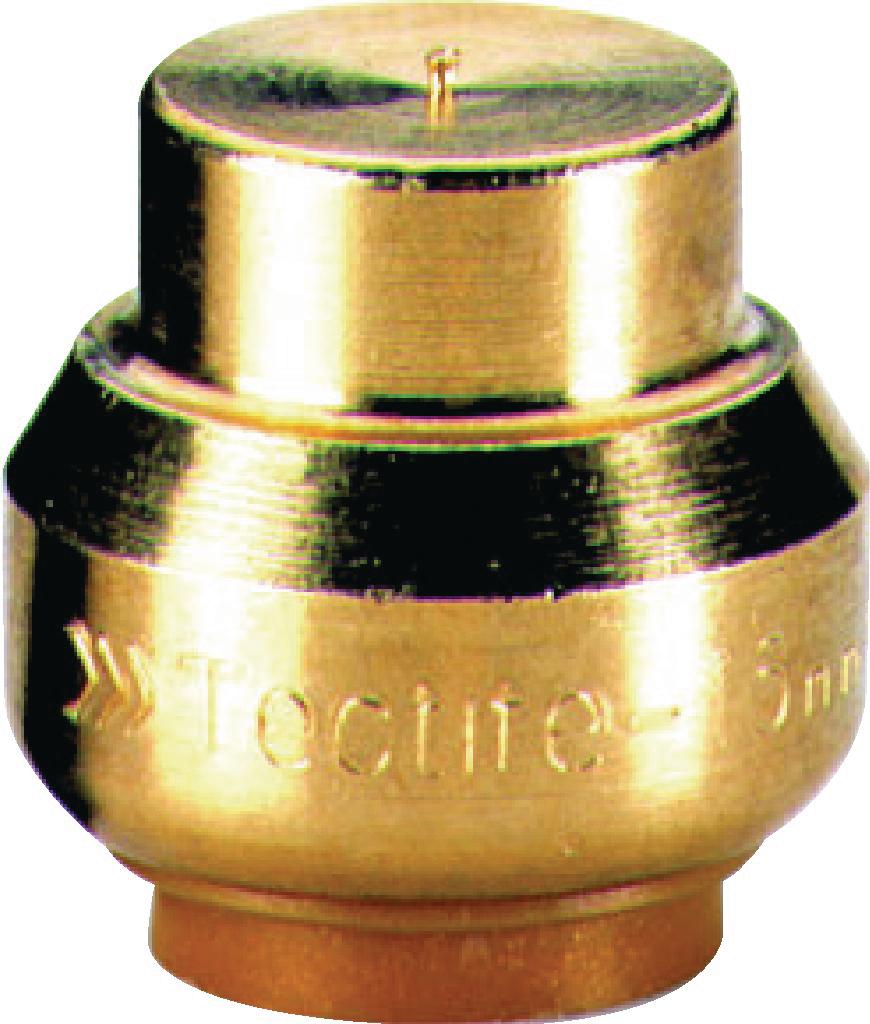 Bouchon Tectite Pour Cuivre Per Diamètre 22 Mm Comap T30122