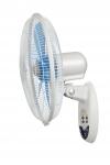 Ventilateur mural - 3 Vitesses - Diamètre 400 + Télécommande - Unelvent 650114