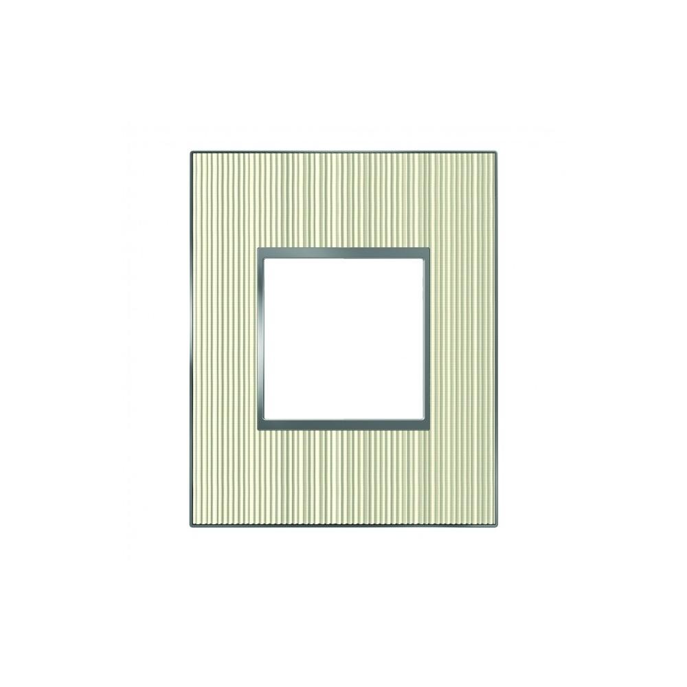 plaque 1 poste arnould espace evolution vinyle 33 59. Black Bedroom Furniture Sets. Home Design Ideas