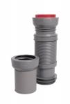 Pipe souple pour bâti-support - Diamètre 100 / 110 mm - Longueur 320 à 670 mm - Ceta 214-MULTIBATI