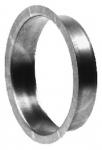 Piquage à plat galvanisé diamètre 355mm