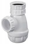 Siphon de bidet - Diamètre 32 mm - Blanc - Altech 61530000134