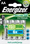 Pile rechargeable - Energizer RECH EXTREME - AA - 2300 MAH - x4 - Energizer 416893
