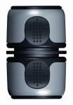 Raccord rapide - Plastique - 15 mm - Bi-matière integral - Techno 3951401