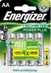 Pile rechargeable - Energizer POWERPLUS - AA - 2000MAH - x4 - Energizer 417012