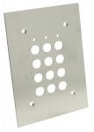 Clavier à code SU2 - Plaque inox pour installation en encastrée