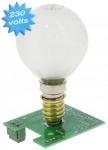 Carte lumière fixe 230 v pour boitier GIBIDI DSL2000
