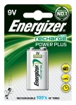 Pile rechargeable - Energizer Recharge Power Plus - 6LR61 - 9 volts