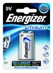Pile lithium Energizer Ultimate - 6LR61 - 9 Volts - Blister de 1 pile