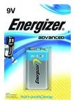 Pile alcaline Energizer Advanced - 6LR61 - 9 Volts - Blister de 1 pile
