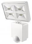 Projecteur à LED 4 x 8 Watts blanc avec détecteur de mouvement Theben