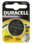 Pile CR2450 3V Duracell au  lithium