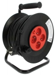 Enrouleur standard 40 m et cable 3G1,5 mm