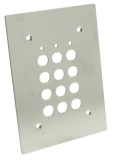 Clavier � code SU2 - Plaque inox pour installation en encastr�e