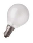 Ampoule à incandescence - Spécial Four - E14 - 40W - 230V - P45 - Dépolie - Osram 008486
