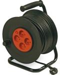 Enrouleur standard 25 m et cable 3G1,5 mm