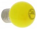 Ampoule à LED Vision-EL E27 Bulb 0.5W Jaune 230 Volts