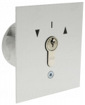 .Contacteur à clé à encastré montée/descente