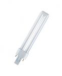 Ampoule Fluocompacte - Osram Dulux S - 9 Watts - G23 - 4000K