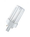 Ampoule Fluocompacte - Osram Dulux T Plus - 18 Watts - GX24D-2 - 3000K
