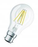 Ampoule à LED - Osram LEDFIL CLASSIC PARATHOM - B22 - 7W - 2700K - 806LM - CLA60 - Verre clair - Osram 061675