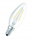 Ampoule à Led - Osram PARATHOM Retrofit Classic - E14 - 2.1W - 2700K - B35 - Claire