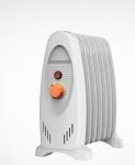 Radiateur bain d'huile - Thermostat réglable - 900 Watts - Unelvent 673991