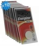 Pile CR2016 3V Energizer au Lithium par 10