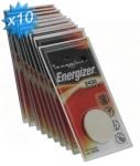 Pile CR2430 3V Energizer au lithium par 10