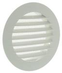 Grille ronde plastique diamètre 134mm