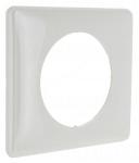 Plaque Céliane 1 poste Glossy Blanc