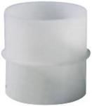 Manchon raccord plastique diamètre 80mm série TUB-P