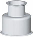 Manchon double WC - Grand modèle - 30 x 65 - Blanc 2205-b - Gripp 23014011