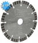 Disque diamant diamètre 150 mm pour matériaux dur et polyvalent