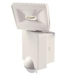 Projecteur à LED 8 Watts blanc avec détecteur de mouvement