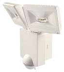 Projecteur à LED 2 x 8 Watts blanc avec détecteur de mouvement