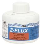 Décapant liquide Spécial Zinc - geb Z-FLUX - Flacon 250 ml - Avec bouchon pinceau