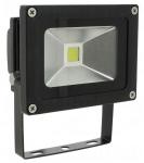 Projecteur extérieur à LED - Vision-EL - 10W - 6000K - Noir - IP65