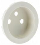 Enjoliveur - Prise de courant 2P+T - Legrand Céliane - Blanc