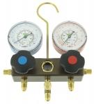 Manomètre 2 Voies pour plusieurs gaz R407 et R22