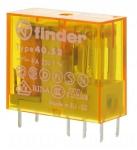 Relais miniature pour circuit imprimé 24 volts AC 2 contacts 8 ampères