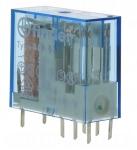 Relais miniature pour circuit imprimé 12 volts DC 2 contacts 8 ampères