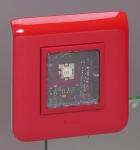 Diffuseur lumineux - Legrand Mosaic - 2 CD - Flash Rouge - Legrand 040596
