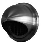 Prise air neuf - En inox - Ronde - Diamètre 125 - Unelvent 870253